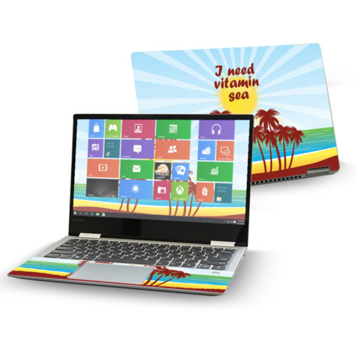 LENY72013-Vitamin Sea 13 in. Skin Decal Wrap for Lenovo Yoga 720 2017 Sticker - Vitamin Sea