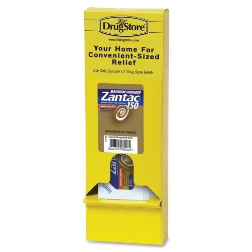 LIL' DRUG STORE LIL53026 Zantac 150 Refill Maximum Strength 20- PK Yellow