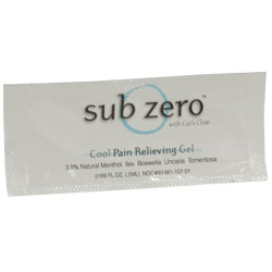 LZ5115 Sub Zero Cool Pain Relieving Gel
