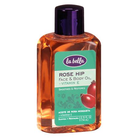 La Bella Rose Hip Oil with Vitamin E - 3.0 fl oz