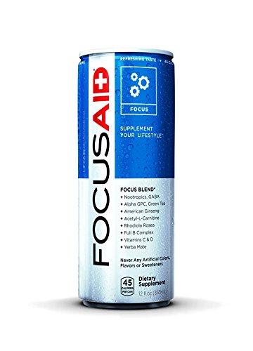 Life Aid 7960010 12 oz Focusaid Focus Blend - Case of 12