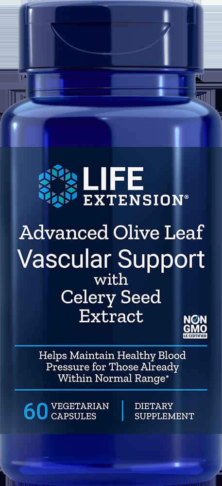 Life Extension Adv Olive Lf Vasc Sup w/ Celery Sd Ext, 60 VeggieC