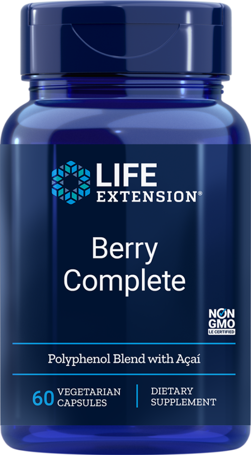Life Extension Berry Complete (60 Vegetarian Capsules)