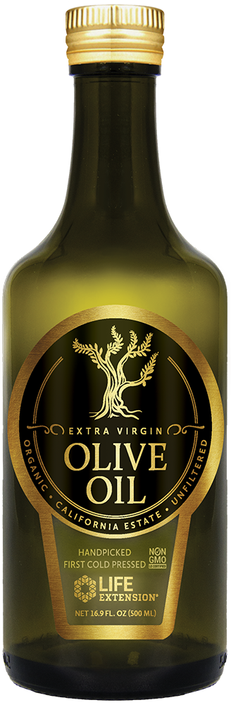 Life Extension Cali Estate Organic Extra Virgin Olive Oil, 500 ml