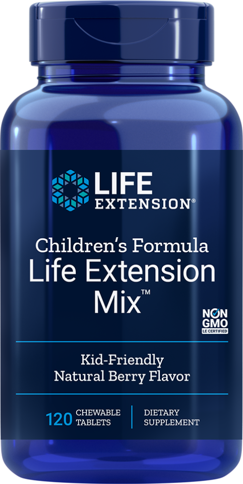 Life Extension Children's Formula Mix, 120 ChewT