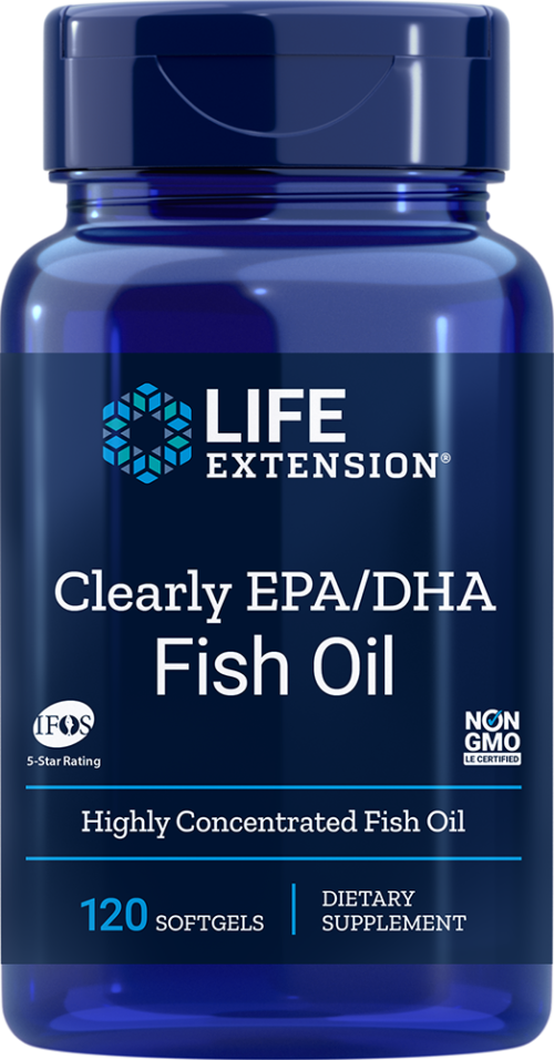 Life Extension Clearly EPA/DHA (120 Softgels)