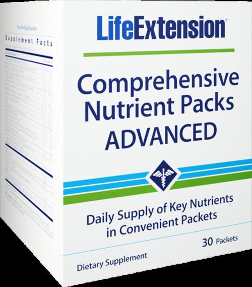 Life Extension Comprehensive Nutrient packetss Advanced, 30 complex