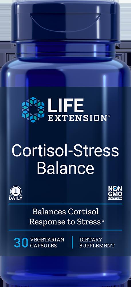 Life Extension Cortisol-Stress Balance (30 Vegetarian Capsules)