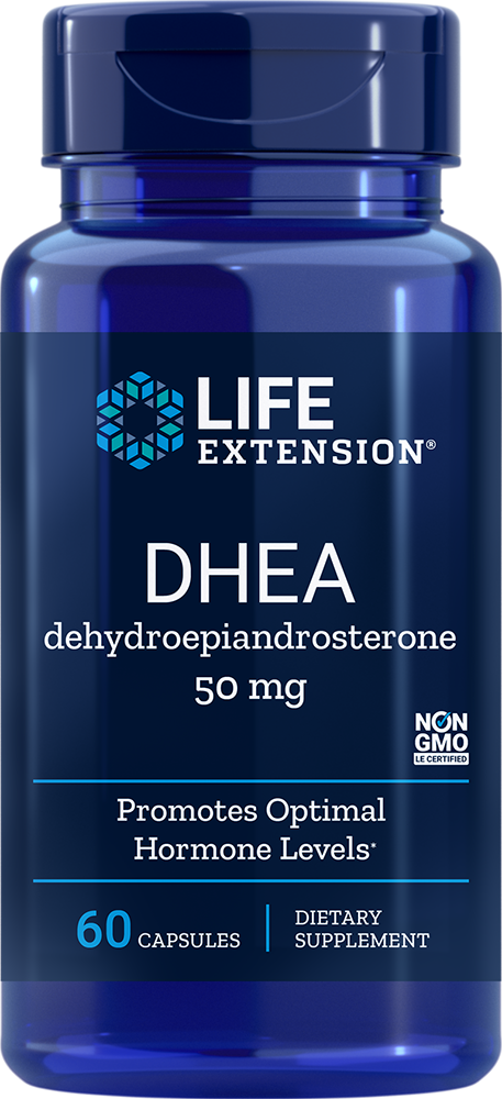 Life Extension DHEA - 50 mg (60 Capsules)