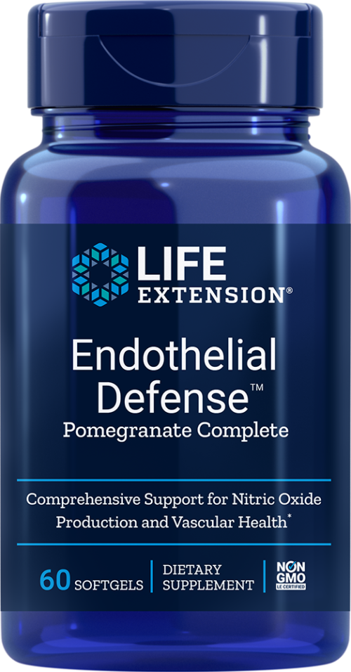 Life Extension Endothelial Defense Pomegranate Complete 60 S