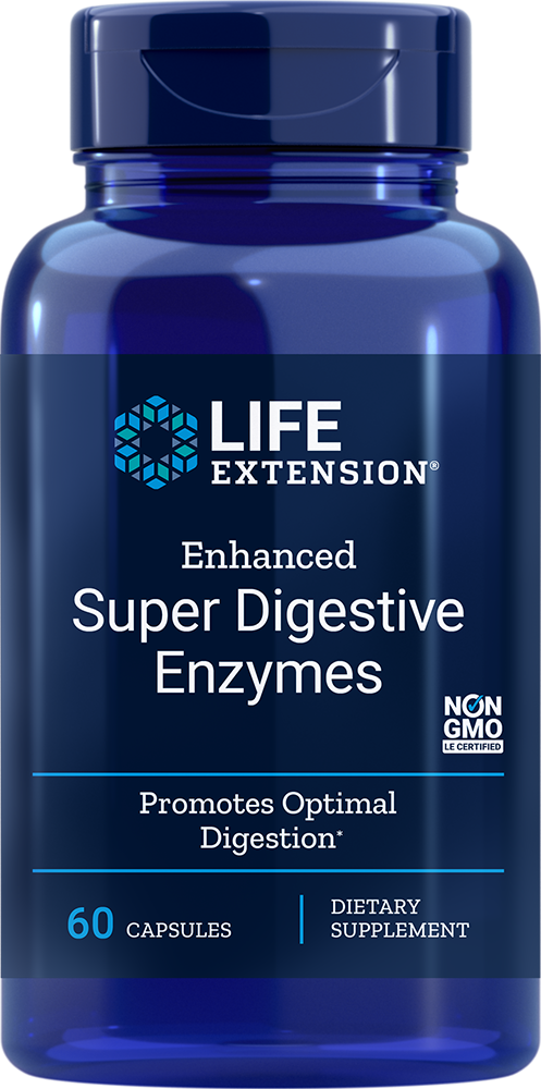 Life Extension Enhanced Super Digestive Enzymes, 60 VeggieC