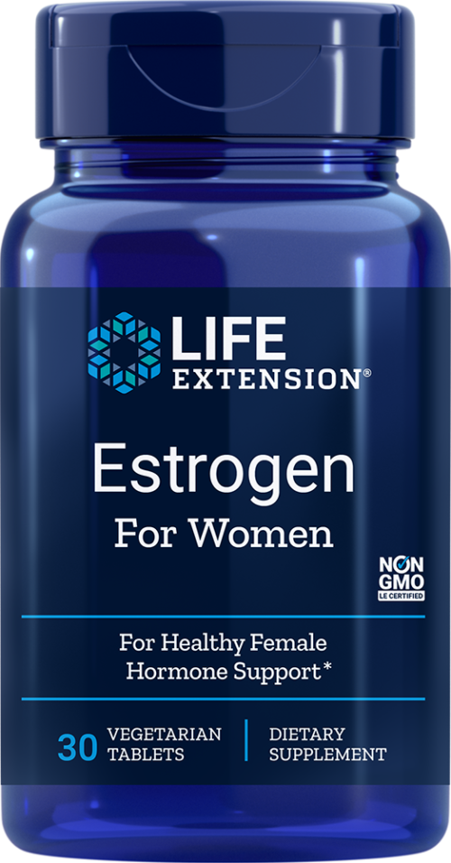 Life Extension Estrogen For Women (30 Vegetarian Tablets)