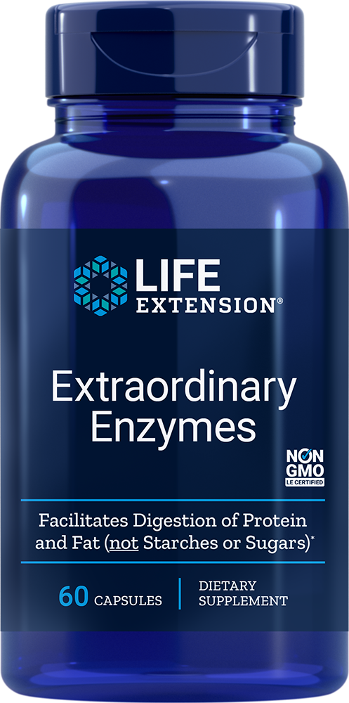 Life Extension Extraordinary Enzymes (60 Capsules)