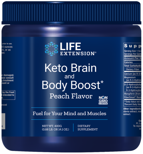 Life Extension Keto Brain and Body Boost*, 14.10 oz