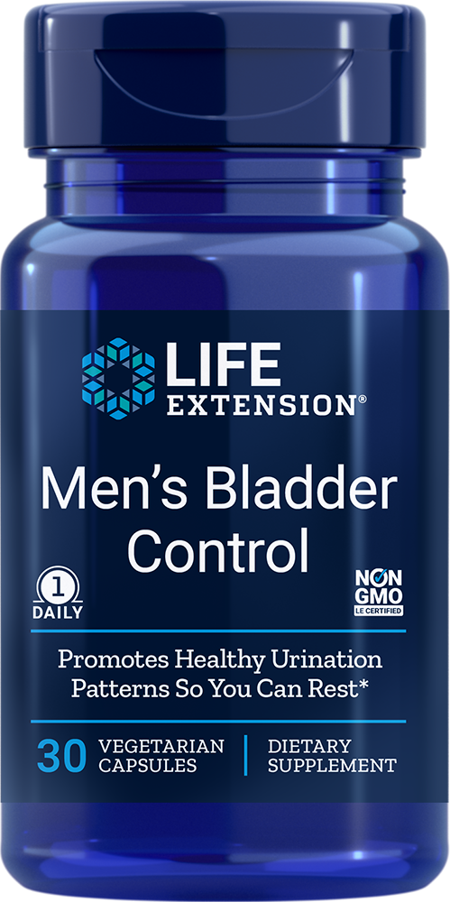 Life Extension Men's Bladder Control (30 Vegetarian Capsules)