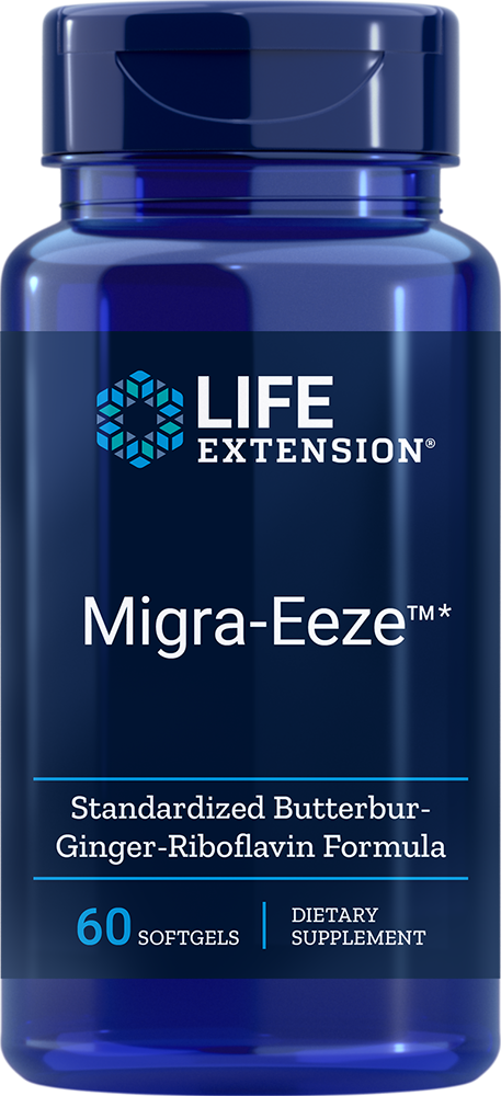 Life Extension Migra-Eeze™ (60 Softgels)