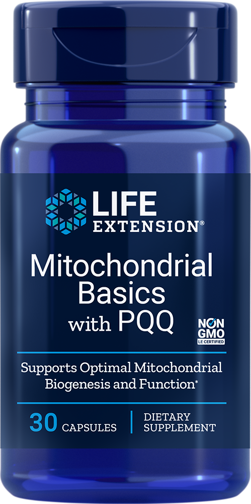 Life Extension Mitochondrial Basics with PQQ (30 Capsules)