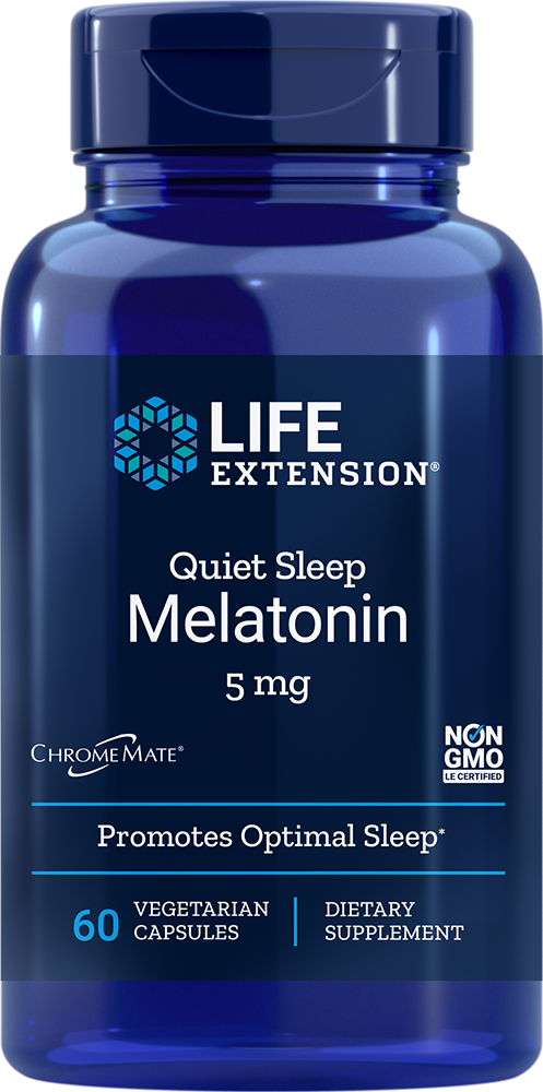 Life Extension Quiet Sleep Melatonin, 60 VeggieC - 5 mg