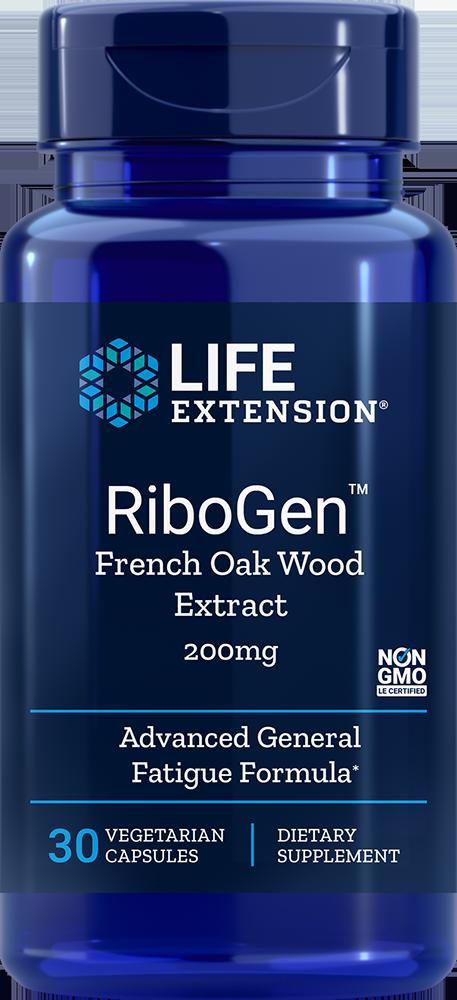 Life Extension RiboGen French Oak Wood Ext, 30 VeggieC - 200 mg