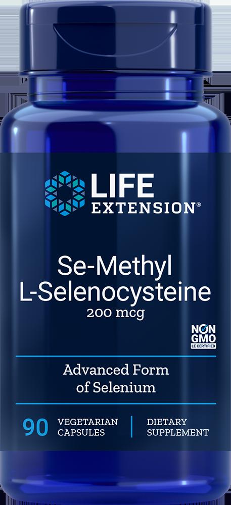 Life Extension Se-Methyl L-Selenocysteine, 90 VeggieC - 200 mcg