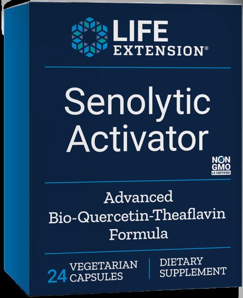 Life Extension Senolytic Activator (24 Vegetarian Capsules)