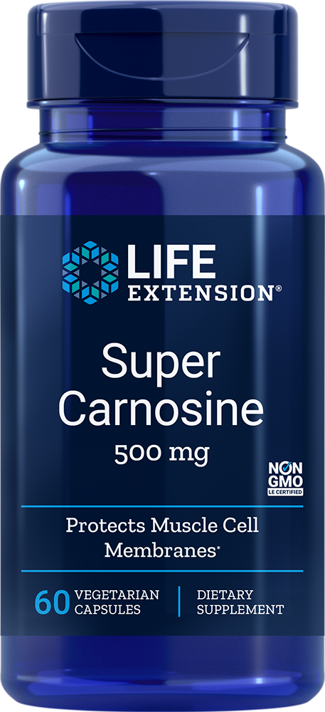Life Extension Super Carnosine - 500 mg (60 Vegetarian Capsules)