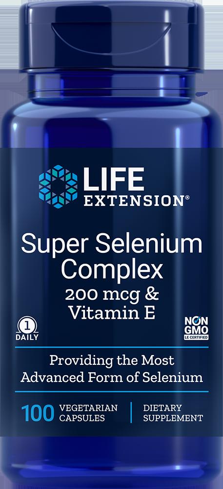 Life Extension Super Selenium Complex, 100 VeggieC - 200 mcg