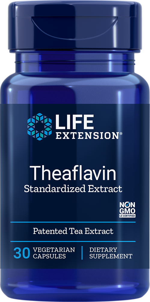 Life Extension Theaflavin Standardized Extract, 30 VeggieC
