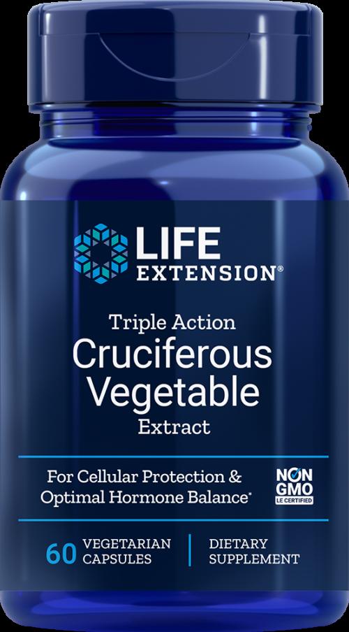Life Extension Triple Action Cruciferous Veg Ext, 60 VeggieC