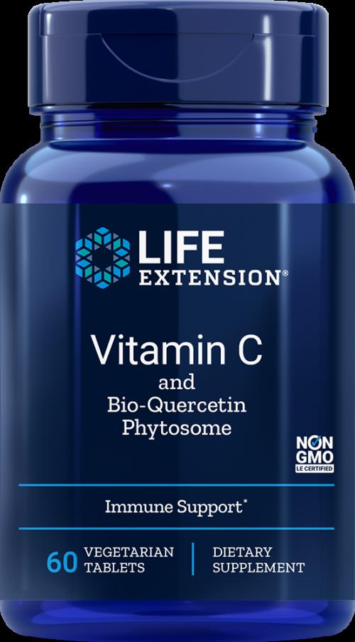 Life Extension Vitamin C w/Bio-Quercetin Phytosome, 60 Veggie Tab