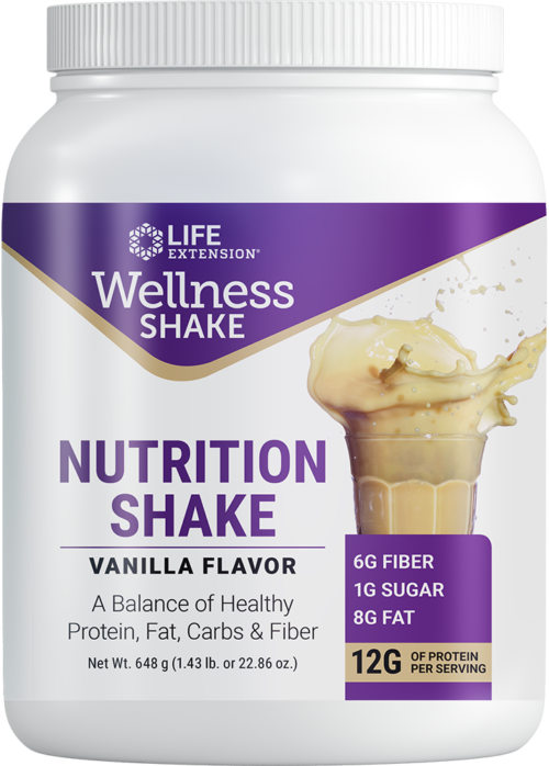 Life Extension Wellness Shake Nutrition Shake Van Fl, 22.86 oz