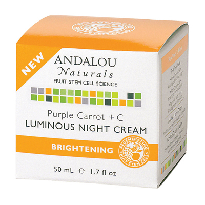 Luminous Night Cream Purple Carrot plus C 1.7 fl oz - 50 ml - 1.7 oz