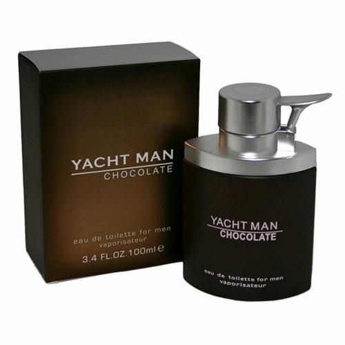 amyacc34s 3.4 oz Yacht Man Chocolate Eau De Toilette Spray for men