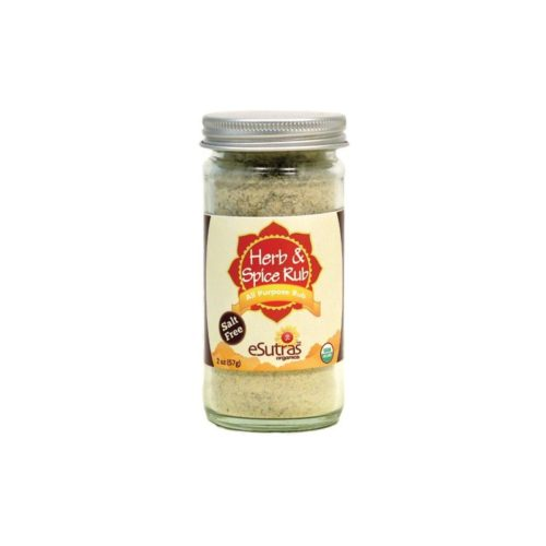 eSutras 110100 Salt Free Herb & Spice Rub