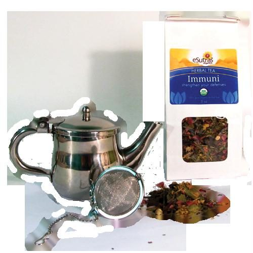 eSutras 13060 Immuni Tea Set