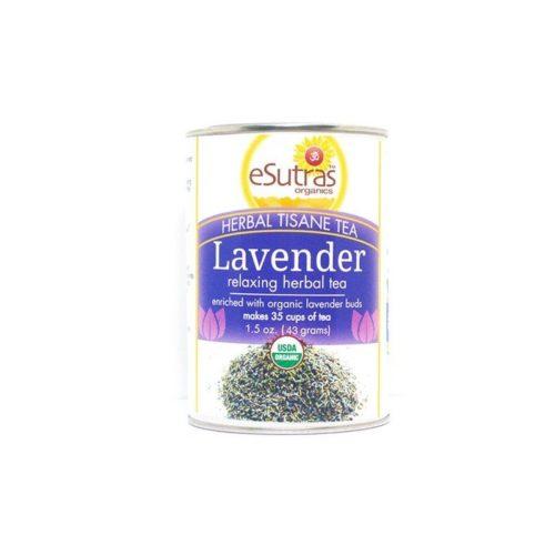 eSutras 173200 Soothing Herbal Tea & Lavender Buds Tea