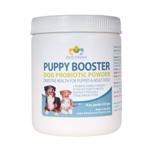 009TL02-16 16 oz Puppy Booster Dog Probiotic Powder