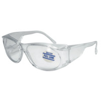 101-MS225 Full-Lens Magnifying Safety Glasses 2.25 Diopter, Clear