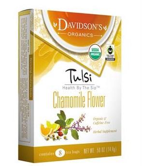 1106 Single Serve Tulsi Chamomile Flower Tea - 100 Count