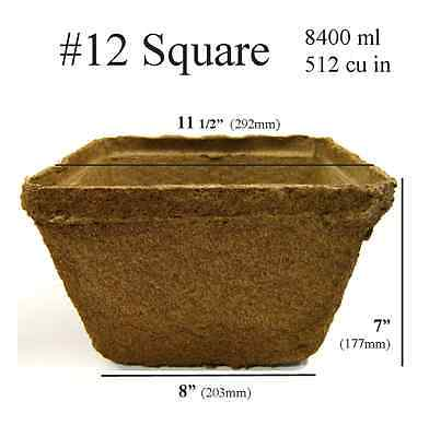 # 12 Square Pot - 2 pots