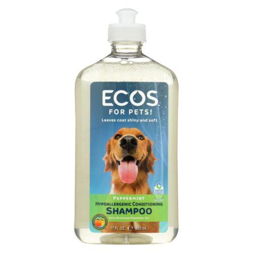 1796333 17 fl oz Hypoallergenic Conditioning Pet Shampoo - Peppermint
