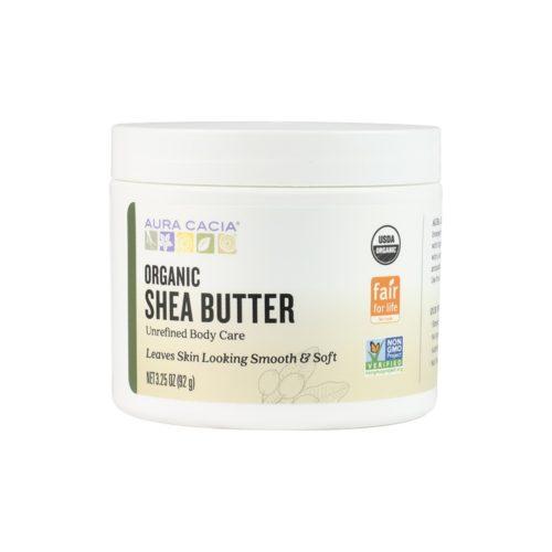 190141 3.25 oz Fair Trade Certified Organic Unrefined Shea Butter