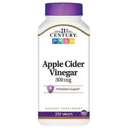 21st Century Apple Cider Vinegar 300mg - 250.0 ea