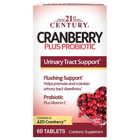21st Century Cranberry Plus Probiotic - 60.0 ea