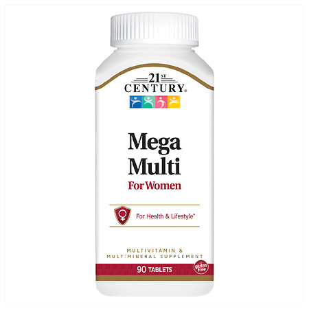 21st Century Mega Multi for Women, Multivitamin & Multimineral - 90.0 ea