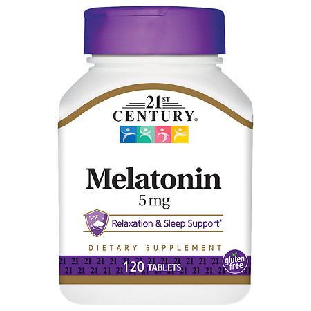 21st Century Melatonin 5mg, Maximum Strength - 120.0 ea