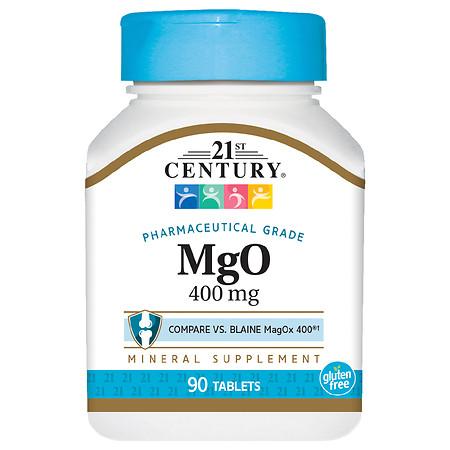 21st Century MgO 400 mg - 90.0 ea