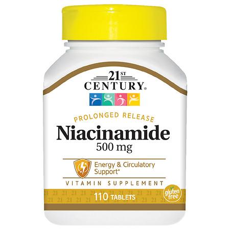 21st Century Niacinamide 500 mg Prolonged Release - 110.0 ea
