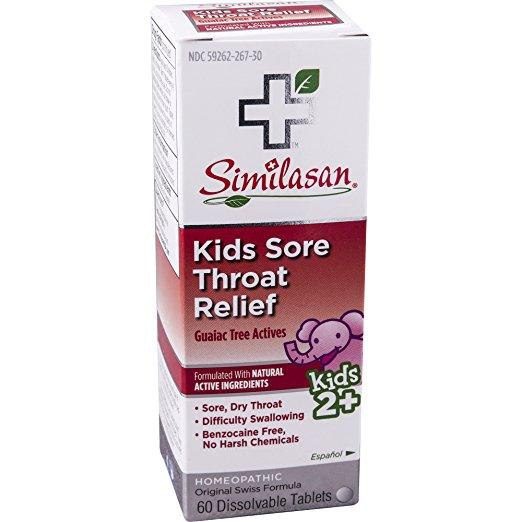 459617 Kids Sore Throat Relief - 60 Tablets