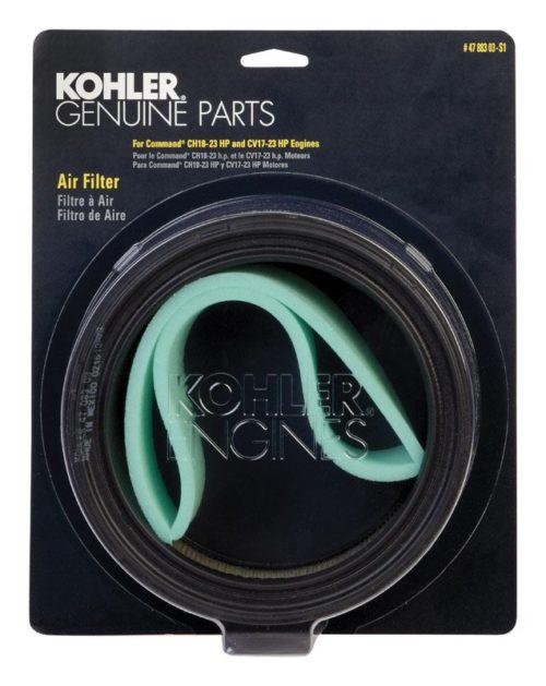 47 883 03-S1 Kohler Replacement Air Filter